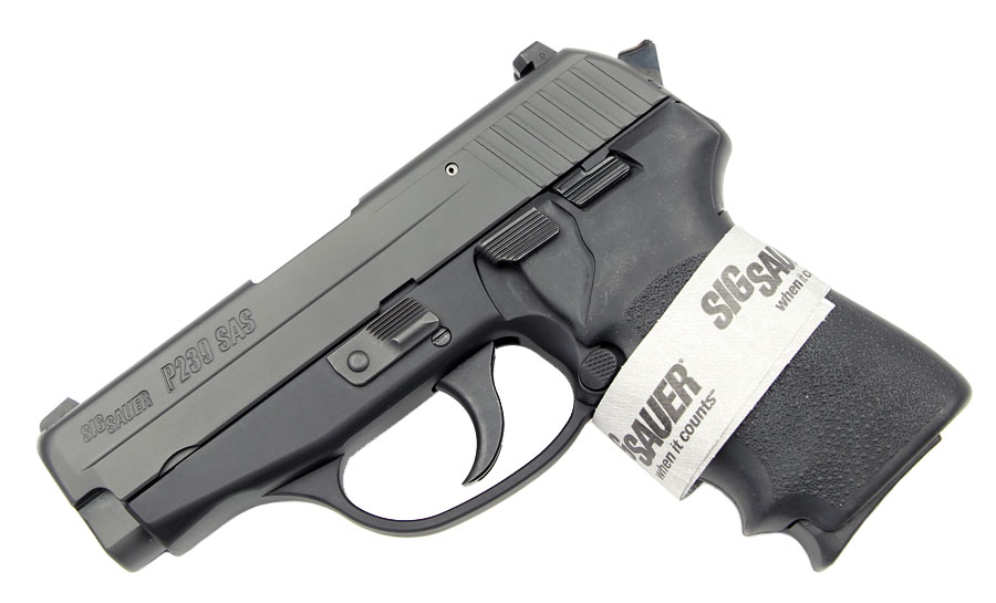 Sig Sauer P239 SAS Gen. 2, .40S&W, Nitron, Night Sights, DA/SA, SRT