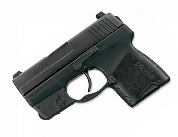 Sig Sauer P290 9mm, Nitron, SigLite Night Sights, DAO RESTRIKE - Tactical Laser