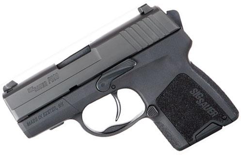 Sig Sauer P290 9mm, Nitron, SigLite Night Sights, DAO RESTRIKE