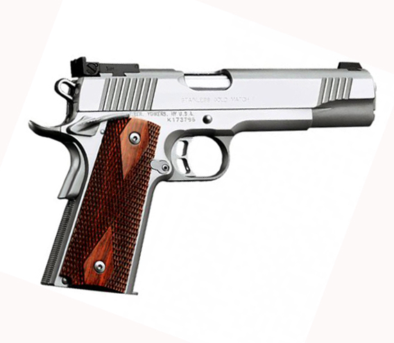 Kimber Stainless Gold Match II .45ACP