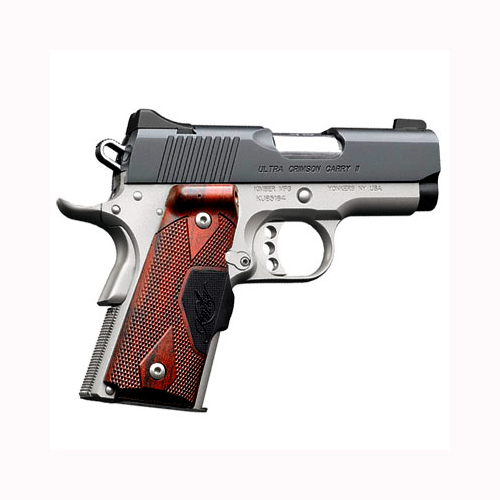 Kimber Ultra Crimson Carry II .45ACP Crimson Trace Grips - GREEN