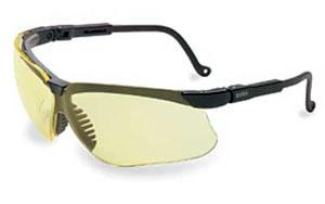 Howard Leight Genesis Glasses BLK/AMBER