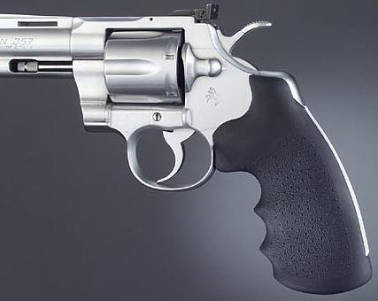Hogue Rubber Monogrip for Colt Python