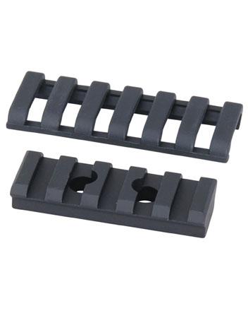 ERGO 5 Slot UMP Aluminum Picatinny Rail Black