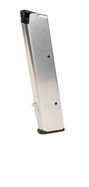 Wilson Combat #47T 1911 Govt .45 ACP 10rd magazine - Stainless