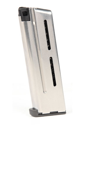 Wilson Combat #500,9C ETM 1911 Officers 9mm 8rd magazine - Stainless