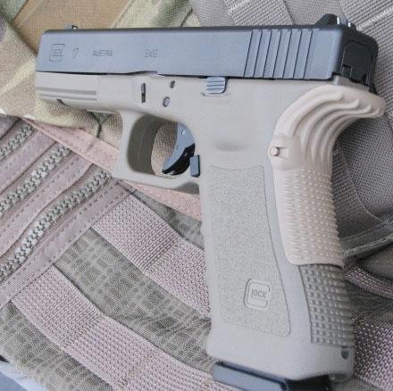 Grip Force Adapter For Glock GEN 1, GEN 2, GEN 3 - GEN123-FDE