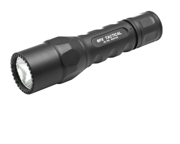 Surefire 6PX Tactical Flashlight - Single-Stage - Black