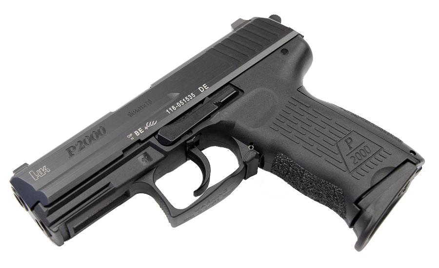 H&K P2000 9mm, DA/SA, V3, Night Sights, 3 Mags