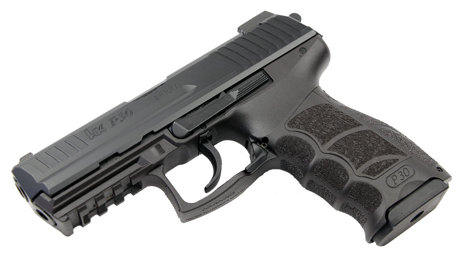 H&K P30 9mm, DA/SA, V3, Night Sights, 3 Mags