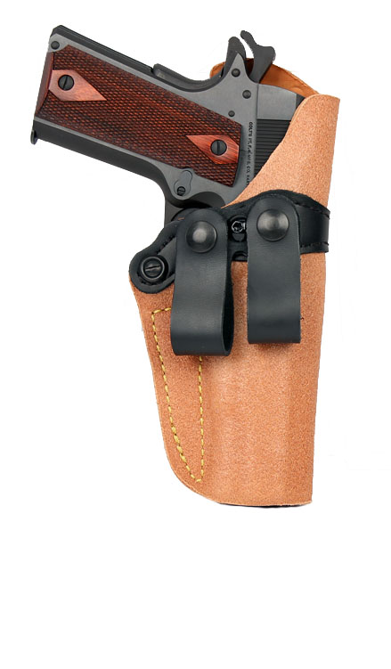 Gould & Goodrich Inside Trouser Holster 808, Right Hand, BROWN - GLOCK 26,27,33,39