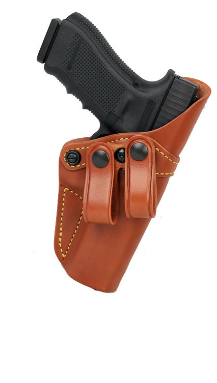 Gould & Goodrich Inside Trouser Holster 810, Right Hand, BROWN - GLOCK 26,27,33,39