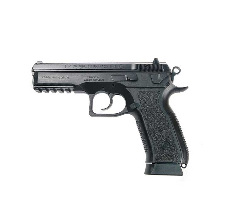 CZ-75 SP-01 Phantom, Fixed Sights, 9mm