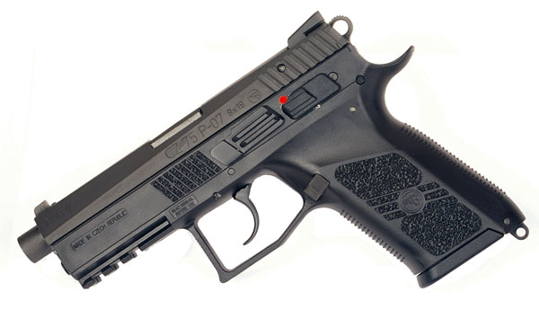 CZ P07 Duty, Night Sights, 9mm