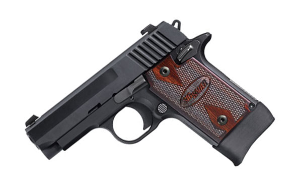 Sig Sauer P938 .22LR, Night Sights, Rosewood