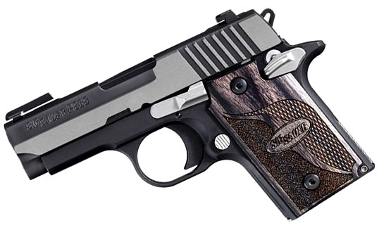 Sig Sauer P938 9mm, Night Sights, Equinox