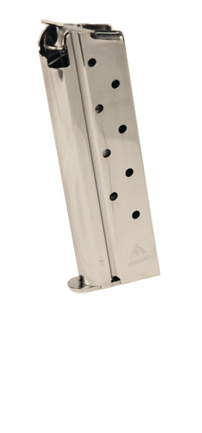 Mec-Gar 1911 Govt 10mm 8rd magazine - NICKEL