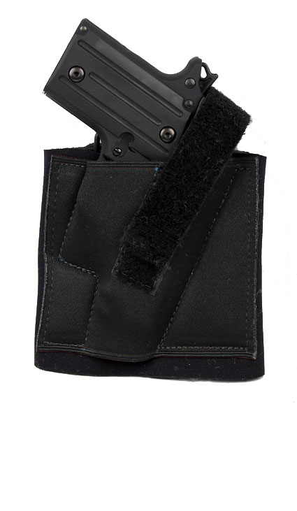 Gould & Goodrich Ankle Holster, Right Hand, Neoprene - MED AUTO/SMALL REVOLV