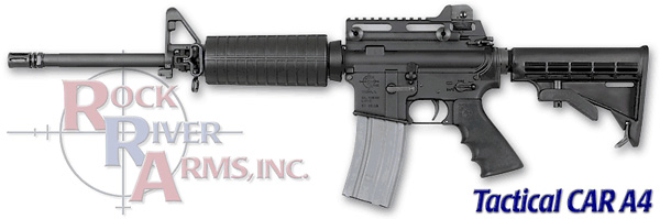 Rock River Arms Tactical CAR A4 5.56NATO - Chrome Lined Barrel - Dominator 2 Mount
