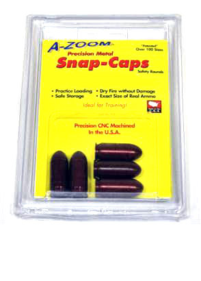 A-Zoom Snap Caps 5/PK - 9MM LUGER