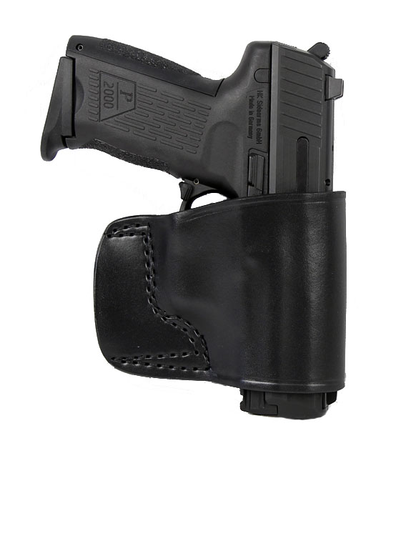 Gould & Goodrich Belt Slide Holster 891, Right Hand, BLACK - HK/SIG/M&P