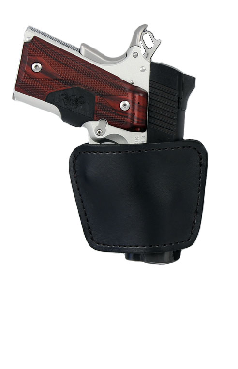 Gould & Goodrich Ambidextrous Concealment Holster, BLACK - UNIVERSAL MED AUTO/SM REVOLV