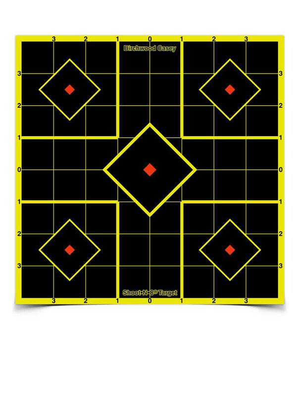 SHOOT-N-C Sight in Targets - 8