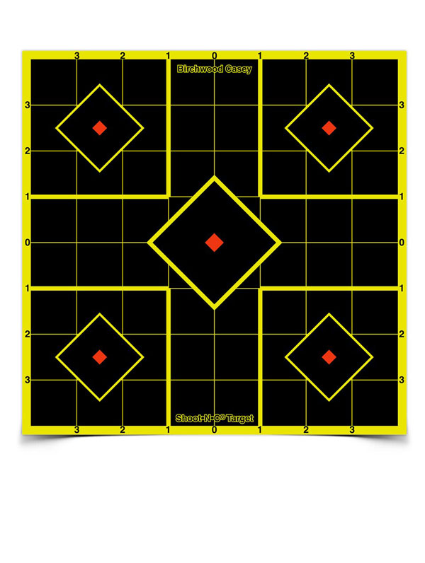 SHOOT-N-C Sight in Targets - 8