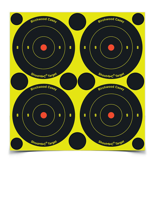 SHOOT-N-C Bull's Eye Targets - 3