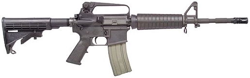 Bushmaster M4 A2 Carbine - AR15 - 5.56mm or .223 Rem.