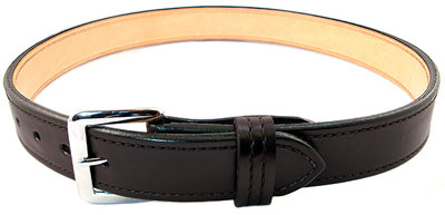 Premium Dual Layer Bullhide Gun Belt - Black - 34