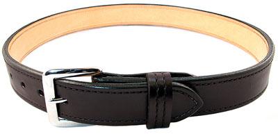 Premium Dual Layer Bullhide Gun Belt - Black - 36