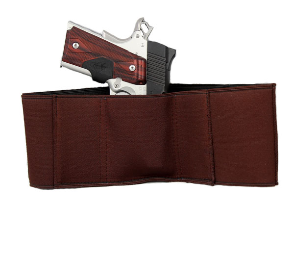 Gould & Goodrich Body Guard Concealment Holster, Large - MED AUTO/REVOLV