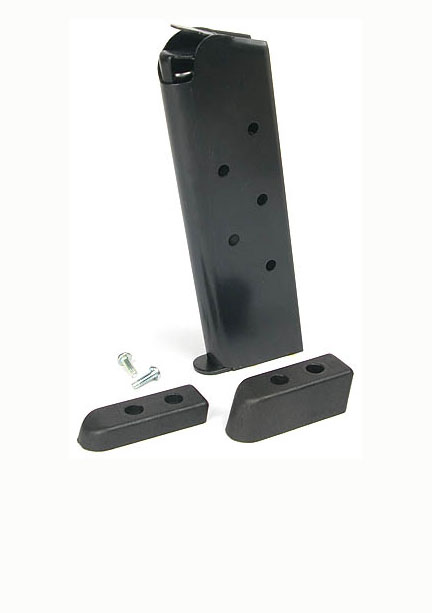 Check-Mate .45ACP, 7RD, Blue, CMF, Bumper Pads - Full Size 1911 Magazine