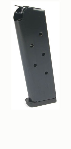 Check-Mate .45ACP, 7RD, Blue, Wadcutter, Removable Base - Full Size 1911 Magazine