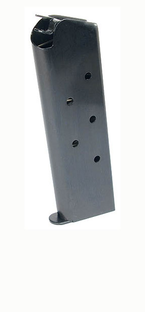 Check-Mate .45ACP, 7RD, Blue, Wadcutter - Full Size 1911 Magazine