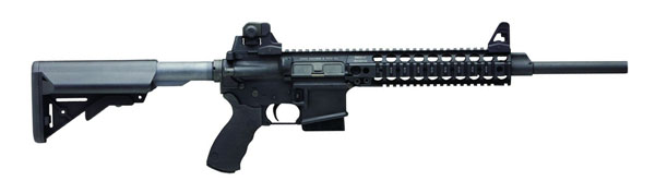 LMT COMPLIANT CQB MRP Defender Rifle, SOPMOD Stock, 5.56 , 16 in.