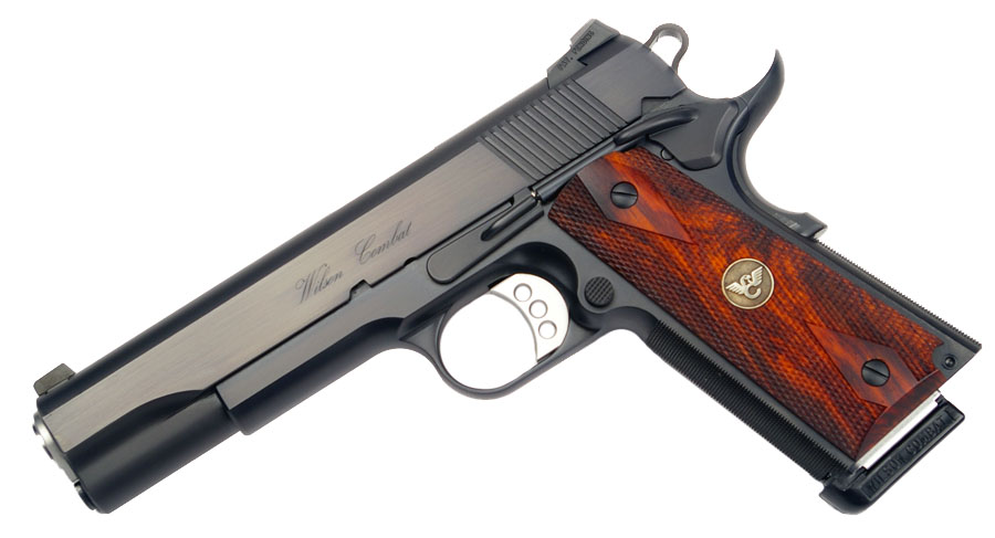 Wilson Combat CQB LEGACY, Cocobolo Grips, No Front Cocking Serrations, Blued