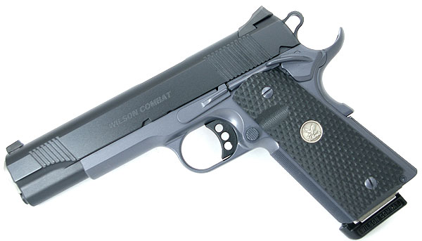 Wilson Combat CQB .45ACP, Tactical Safety, Black/Grey Armor Tuff