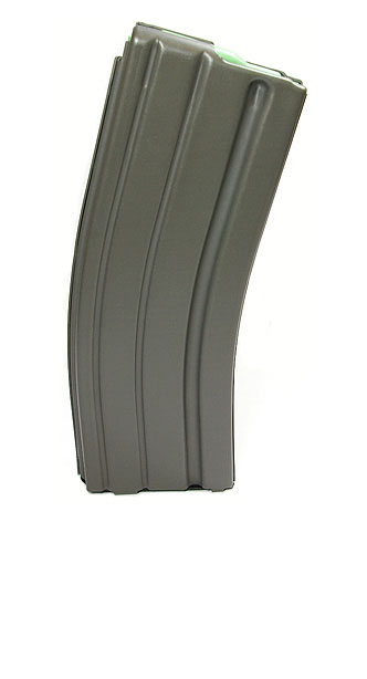 D&H AR15 .223 30RD Magazine - DSG GREY w/GREEN FOLLOWER
