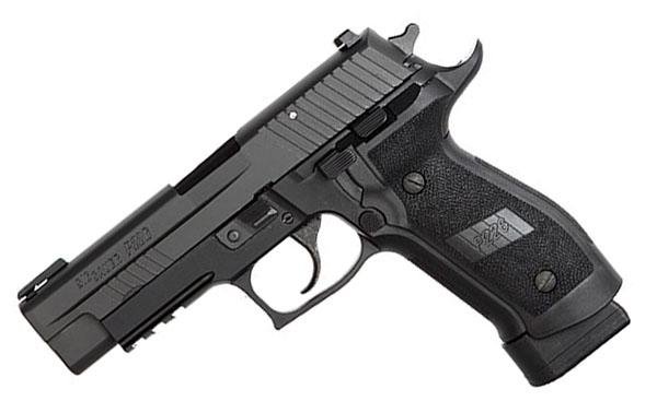 Sig Sauer P226 TAC OPS, .40SW, Nitron, Night Sights, DA/SA, 4 SCT Magazines
