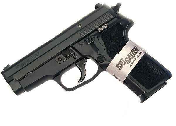 Sig Sauer P229 .40, SigLite Night Sights, DA/SA