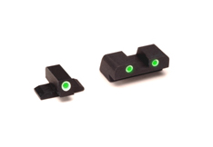 Ameriglo Tritium Night Sight Set - CLASSIC - FNP .40 - Green/Green