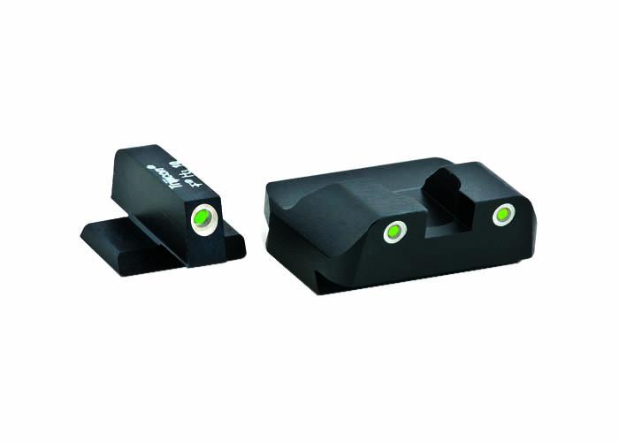 Ameriglo Tritium Night Sight Set - PRO SERIES - FNP 45 - Green/Green