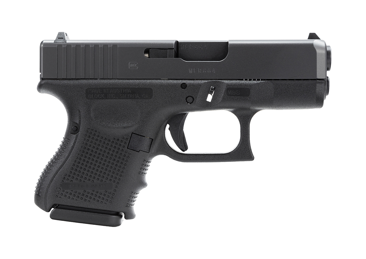 Glock 26 GEN 4 9mm - BLACK - U.S. MADE