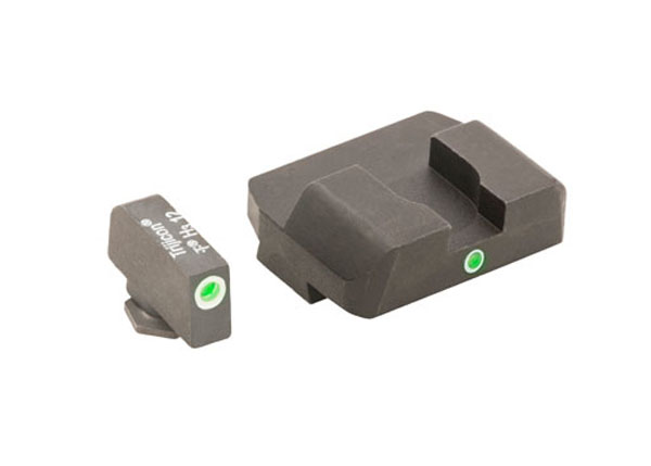 Ameriglo Tritium Night Sight Set - i-Dot - Glock 9mm, .40, .357, .45 G.A.P. - Green/Green