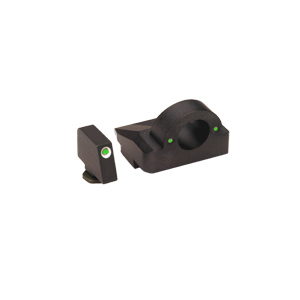 Ameriglo Tritium Night Sight Set - GHOST RING - Glock 9mm, .40, .357 - Green/Green