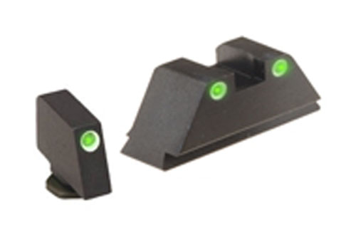 Ameriglo Tritium Night Sight Set - Suppressor Glock
