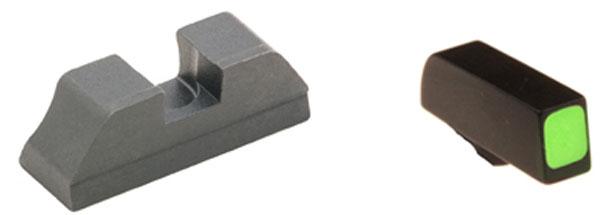 Ameriglo Sight Set - CLAW EMS - Glock - Glock 10mm, .45  - Black/Green