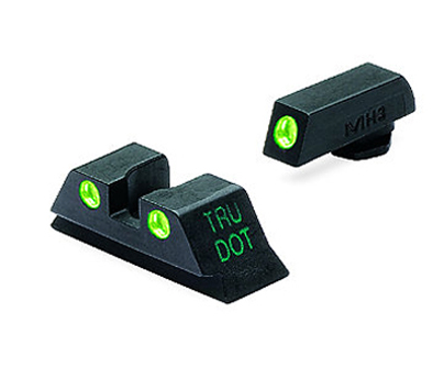 Meprolight Tru-Dot Tritium Night Sights - GLOCK 10mm/.45 ACP